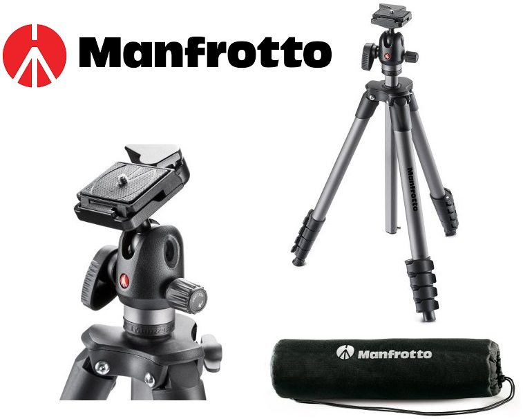 Manfrotto Compact Advanced Ball Head - Trípode
