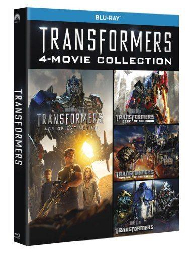 Transformers - Quadrilogia (5 Blu-Ray)