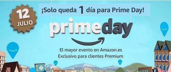 ¡Solo queda 1 días para el Prime Day!