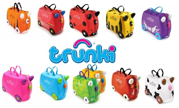 Descuento en maletas Trunki