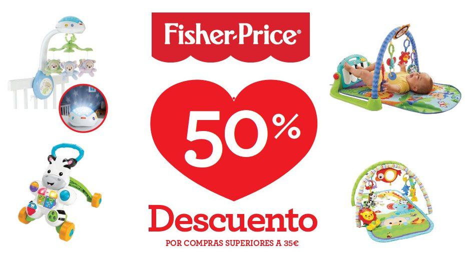 Fisher-Price: 50% de reembolso en una selección de productos