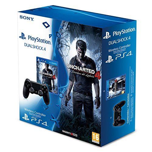 Uncharted 4 el desenlace del ladron + Dualshock 4 PS4