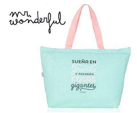 Mr. Wonderful Bolso Bandolera, Color Verde