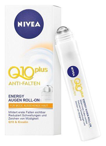 Nivea - Q10 Plus, Roll-On Ojos Anti-Bolsas