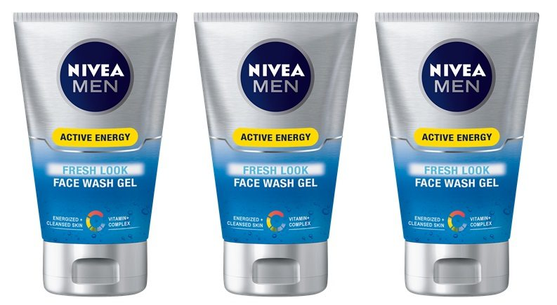 Nivea men - Q10, gel facial revitalizante pack de 3