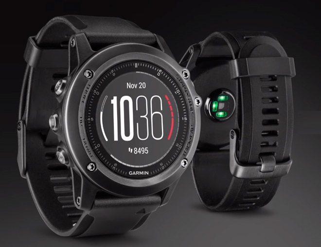 Garmin Fenix 3 HR Plata - Reloj con pulsómetro integrado