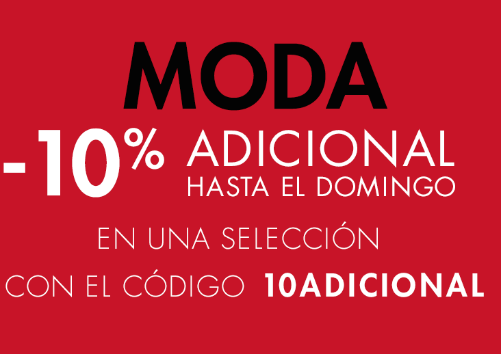 10% adicional con el código 10ADICIONAL