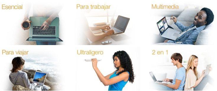 Recomendación de portátiles según su uso.