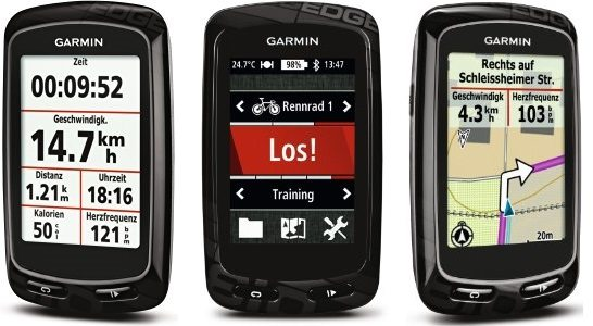 Garmin Edge 810 Pack Performance