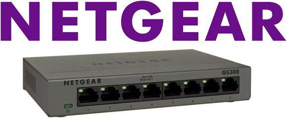 NetGear Switch Gigabit GS308