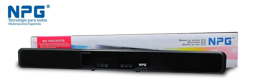Npg Tech BS-A2040C - Barra de sonido