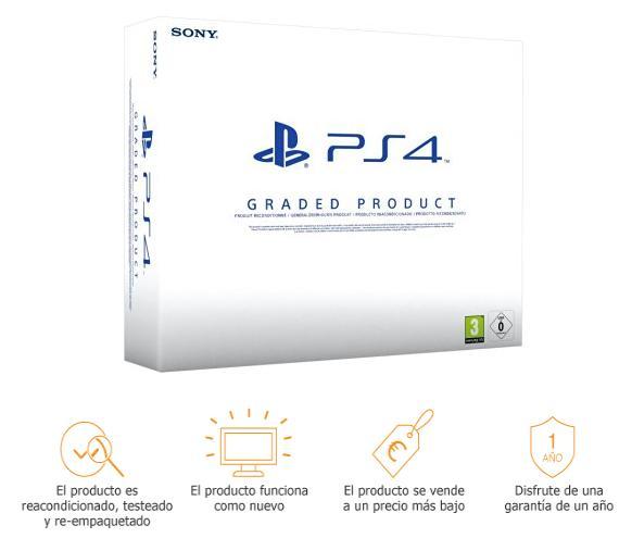 PlayStation 4 (PS4) 500 GB Reacondicionadas