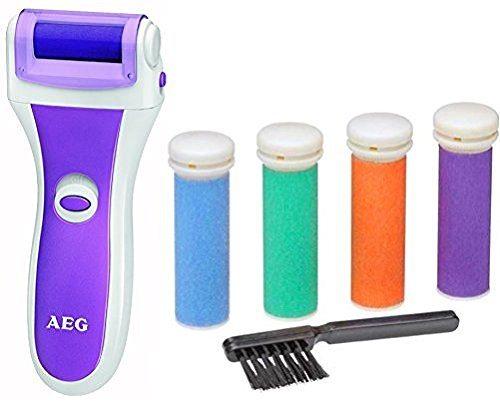 AEG PHE 5642 - Aparato pedicura lima electrónica para eliminar callos y durezas de pies