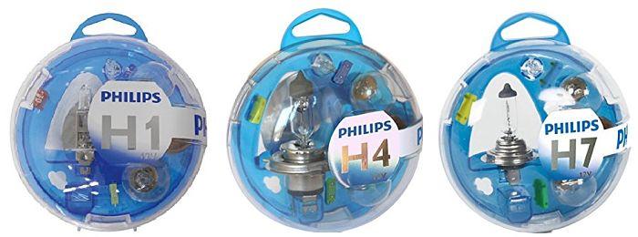 Philips Essential Box - Caja de bombillas de recambio para coches