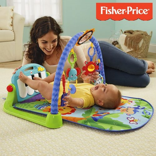 Gimnasio-piano pataditas de Fisher-Price