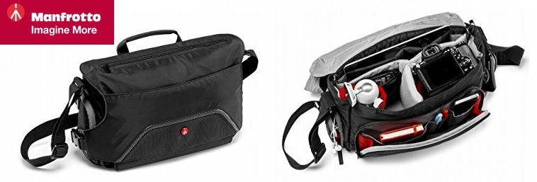 Manfrotto Advanced Pixi Messenger - Bolsa para cámara