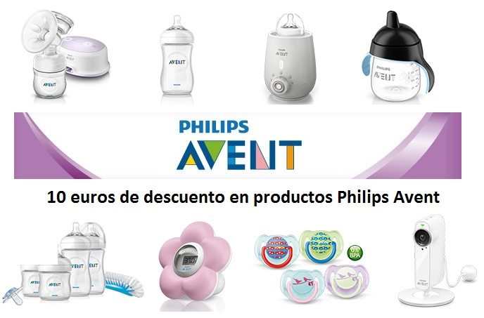 Philips Avent 10€ de descuento