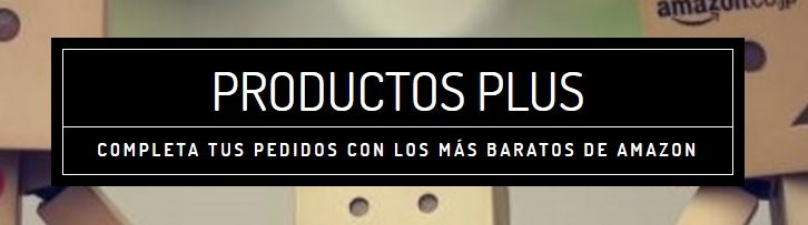 Productos Plus de Amazon