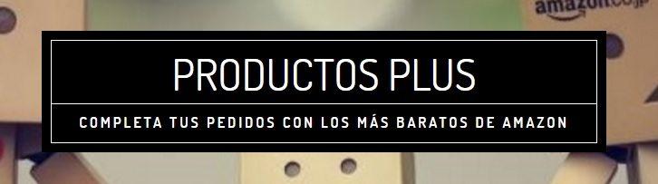 Productos Plus de Amazon