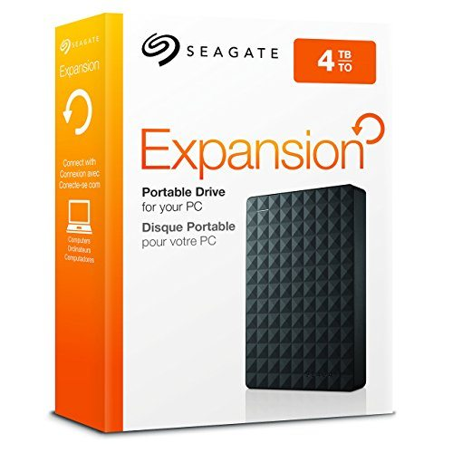 Seagate Expansion Portable, 4TB