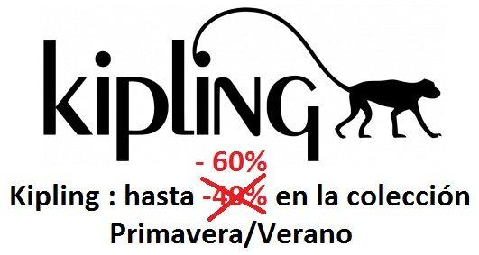 Kipling : una gran selección hasta -60% de descuento
