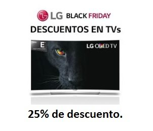 Hasta el -25% de descuento en Televisores LG. Instalación Incluída.