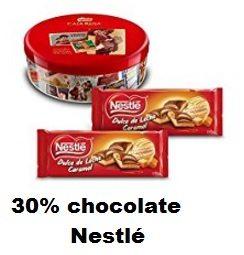 30% en una selección de chocolate Nestlé