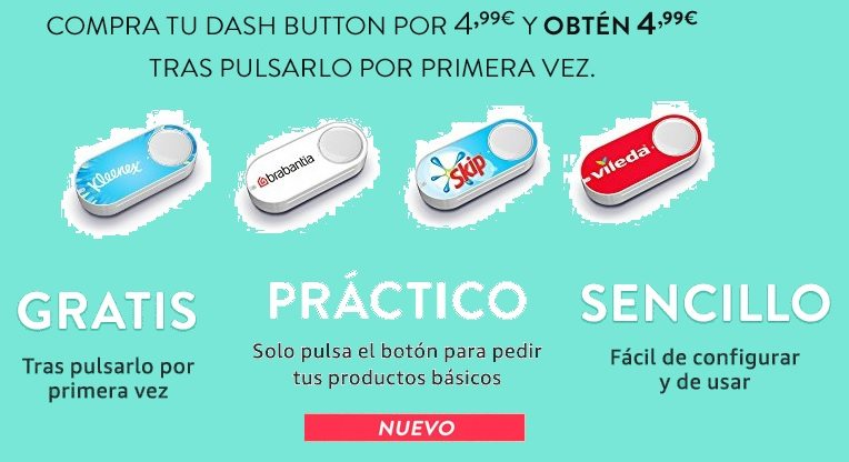 Exclusivo para miembros Premium: Amazon Dash Button