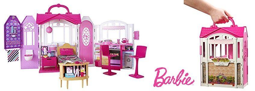 Barbie Casa de vacaciones portátil