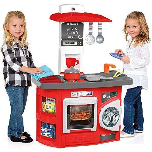 Molto - Cocina de juguete nueva con horno y lavadora