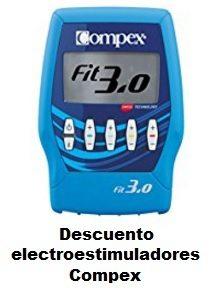 Descuento en una seleccion de electroestimuladores Compex