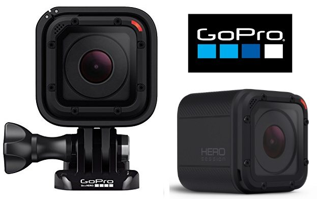 GoPro HERO Session - Videocámara deportiva de 8 MP (WiFi, submergible)