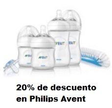 Hasta 20% de descuento en Philips Avent