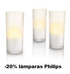Hasta -20% en una selección de lámparas Philips