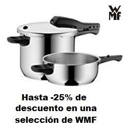 Hasta -25% de descuento en una selección de WMF