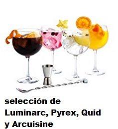 Hasta -30% en selección de Luminarc, Pyrex, Quid y Arcuisine