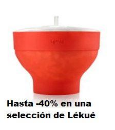 Hasta -40% en una selección de Lékué