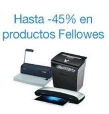Hasta 45% de descuento en productos Fellowes