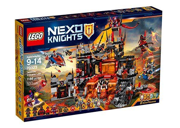 LEGO Nexo Knights - Guarida volcánica de Jestro