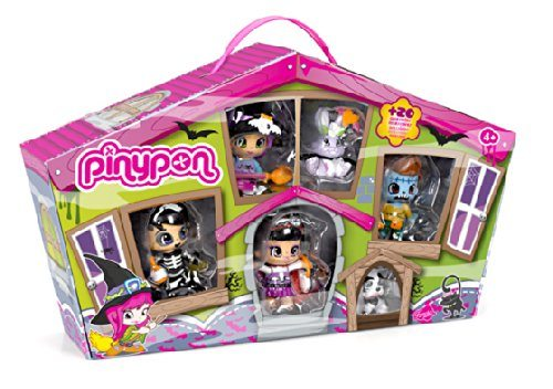 Pinypon - Pinymonsters Pack 4 Figuras y 2 Pets