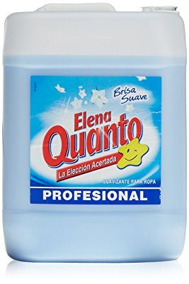 Suavizante ELENA QUANTO azul de 10 litros