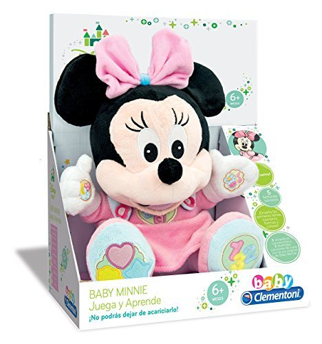 Clementoni - Peluche Baby Minnie