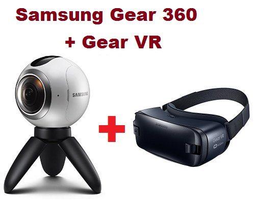 Samsung Gear 360 + Gear VR