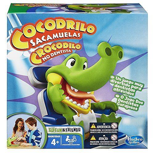 Hasbro Gaming - Juego Cocodrilo Sacamuelas