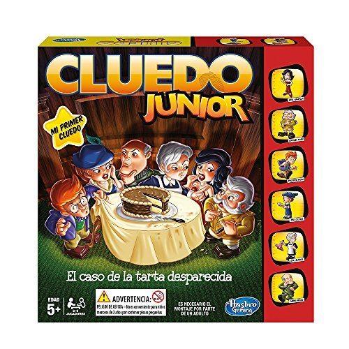 Hasbro Gaming - Juego de estrategia Cluedo Junior