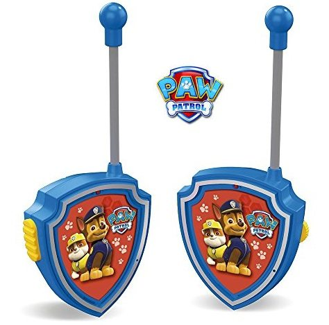 Paw Patrol - Set de 2 walkie talkies