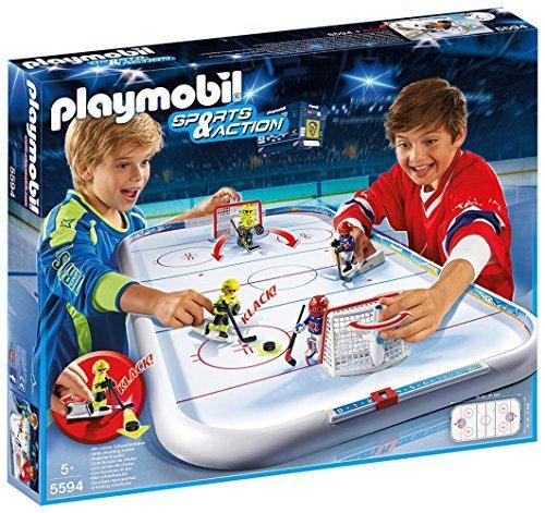 Playmobil - Campo de hockey sobre hielo