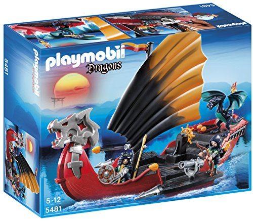 Playmobil Dragones - Barco de batalla del dragón