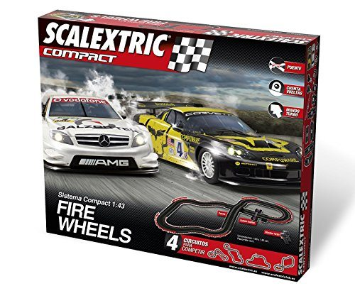 Scalextric Compact Fire Wheels