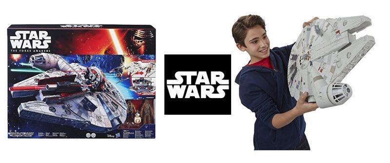 Star Wars - Nave de batalla Halcón Milenario electrónico